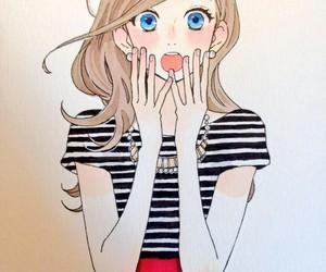 manga, hirunaka no ryuusei, and suzume image
