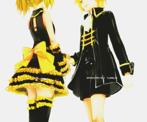 vocaloid, anime, and len image