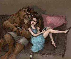 disney and beast image