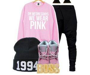 fashion, outfits, and pink image