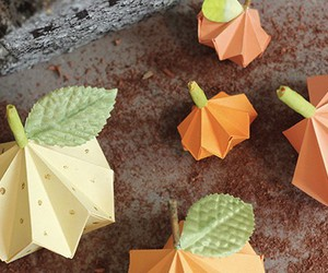 Halloween, origami, and tutorial image