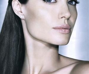 Angelina Jolie and lips image