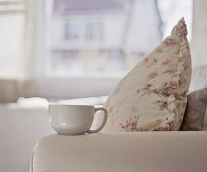 cup, white, and pillow image