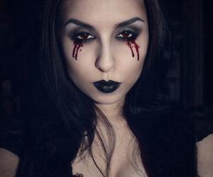 alternative, black hair, and goth image