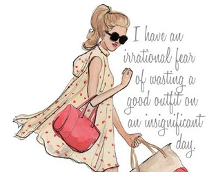 fashion, outfit, and quotes image