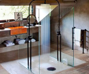 shower, bathroom, and interior image