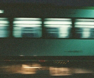 train, grunge, and vintage image