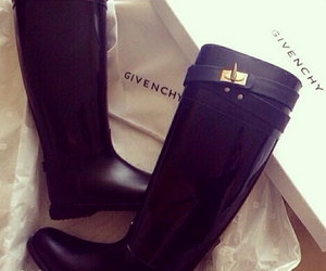 boots, Givenchy, and black image