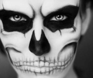 makeup and skull image
