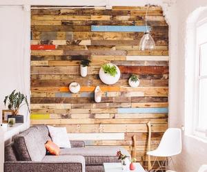 interior, wood, and design image