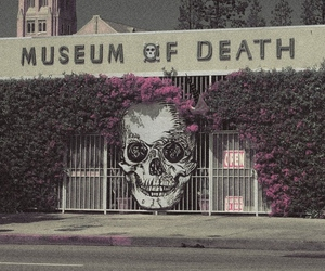 death, museum, and skull image