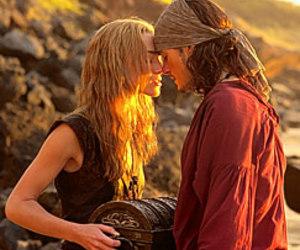couple, keira knightley, and orlando bloom image