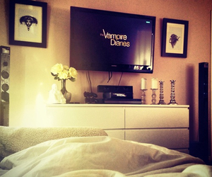 vampire, tvd, and bedroom image
