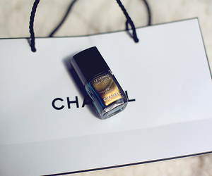 nails, chanel, and girl image