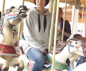 carnival, carousel, and cute hair image