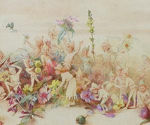 art, elves, and Fairies image