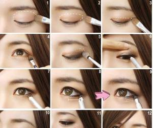 makeup and ulzzang image