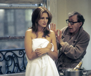 julia roberts and woody allen image