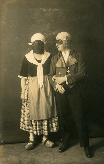 costume and mask image