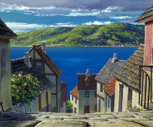 anime, studio ghibli, and howl's moving castle image