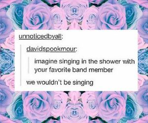 shower, tumblr, and band member image