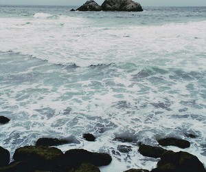 sea, ocean, and nature image