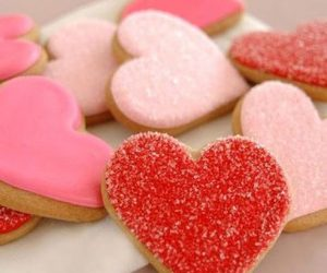 heart, sweet, and Cookies image