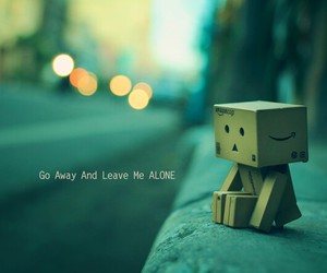 alone and danbo image