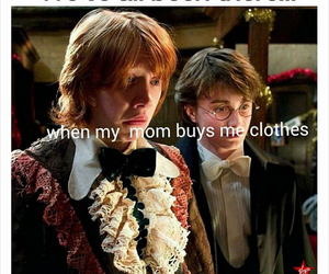 funny, harry potter, and clothes image