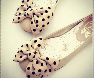shoes, bow, and flats image