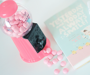 cute, book, and candy image