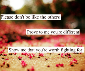 quotes, different, and text image