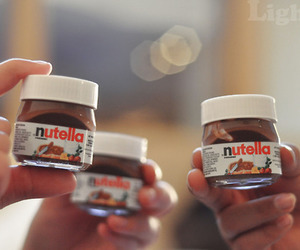 food, hungry, and nutella image