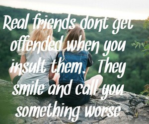 best friends, friendship, and quote image
