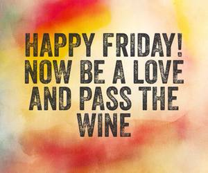 friday and wine image