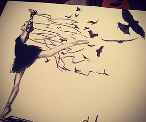 girl, amazing, and art image