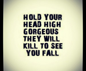 quote, gorgeous, and fall image