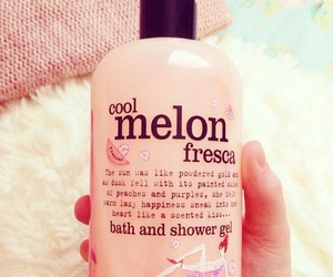 beauty, melon, and pink image