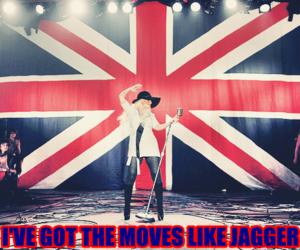 christina aguilera and moves like jagger image