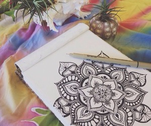drawing, lovely, and papel image