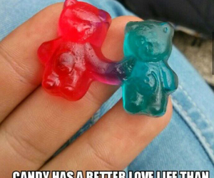 candy, love, and funny image