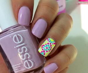 nails, nailart, and essie image