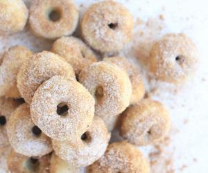 delicious, dessert, and doughnuts image