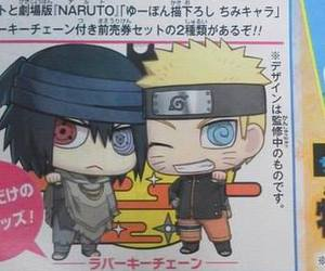 art, chibi, and naruto image