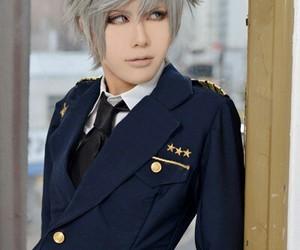 anime, cosplay, and grey hair image