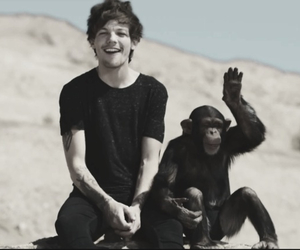 steal my girl, monkey, and louis tomlinson image