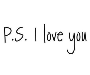 love, boy, and p.s. image