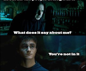 harry potter, mean girls, and snape image