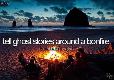 bonfire and bucket list image
