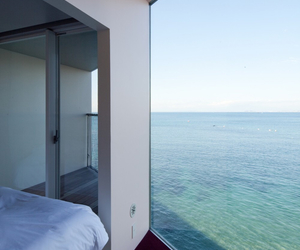 ocean, sea, and house image